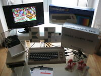 Super Commodore C64 Komplett Set mit Floppy 1541 Joystick in OVP - Versiegelt OK