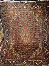 7X10 Feet Very Rare Handmade Turkmen Tribal Tabrizi high quality 100% wool rug
