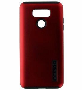 Incipio DualPro Series Dual Layer Case Cover for LG G6 - Matte Dark Red / Black