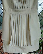 Ladies Size 6? Cream Sass And Bide Strapless Dress.