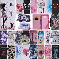 For Samsung Galaxy J6 J4 Plus J3 J5 J7 J8 Wallet Card Holder Leather Case Cover
