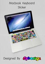 MacBook sticker tastiera adesiva Cartoon per portatili Mac
