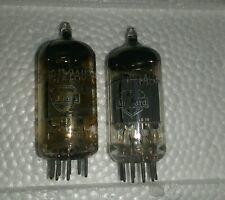 A matched pair (2) of Mullard 12AU7A Vintage Tube