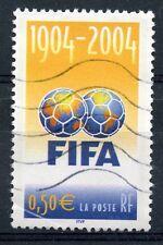 STAMP / TIMBRE FRANCE OBLITERE N° 3671 CENTENAIRE DE LA FIFA / FOOTBALL