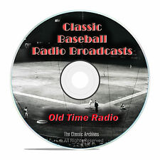Baseball Old Time Radio Broadcasts, 693 Classic Sports Broadcast OTR DVD MP3 F99