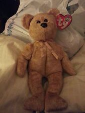 Beanie Baby Bear Original Cashew - Retired - April 22, 2000