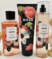Bath & Body Works Rose Shower Gel, Body Cream & Mist Collection!