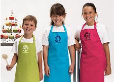 Personalised MasterChef Logo Child Apron - Embroidered - 11 Apron/Logo Colours