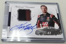2016 16 KURT BUSCH NATIONAL TREASURES RACE USED MATERIAL PATCH RELIC AUTO # / 25