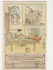 Randolph Caldecott Sing A Song For Sixpence Vintage Postcard 191b