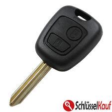 Peugeot Citroen Autoschlüssel Gehäuse 106 206 207 306 307 406 806 Rohling SX NEU