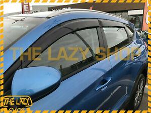 Weathershields, Weather Shields for Hyundai Tucson 15-21 Luxury Window Visors