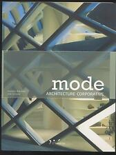 LIVRE MODE ARCHITECTURE CORPORATIVE  ARCHITECTE CONSTRUCTION URBANISME