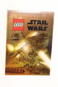 LEGO STAR WARS THE FORCE AWAKENS DELUXE EDITION GOLD 3D LENTICULAR 5 X 7