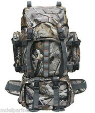 Waterproof Oxford 60L Camouflage Backpack Hunting Camping Hiking