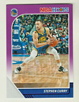 2019-20 Panini NBA Hoops PURPLE PARALLEL #59 STEPHEN CURRY Golden State Warriors