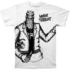 MINOR THREAT - Bottleman:T-shirt - NEW - SMALL ONLY