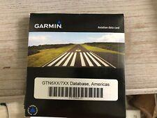 GARMIN AVIATION DATA CARD P/N 010-00900-10 FOR GTN6XX/7XX AMERICA DATABASE