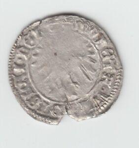 Hungary  1 Denar Ladislaus V the Posthumous 1453-1457  Silver Coin