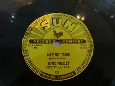 Elvis Presley Rare Original Sun record Mystery Train 1955