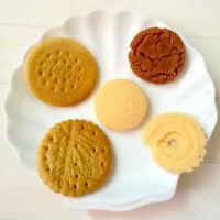 10pcs Fake Danish Cookies Chocolate Cream Sandwich Cookie Fake Food Decor