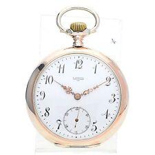 Reloj de bolsillo Vintage Omega Grand Prix Paris De Plata Maciza 1900s