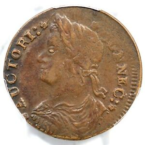1787 33.32-Z.13 PCGS XF 45+ Draped Bust Left Connecticut Colonial Copper Coin