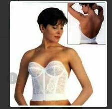 653cf8d29e Goddess Lace Strapless Underwire Low Back Bridal Style 688 Bustier Bra  Corset