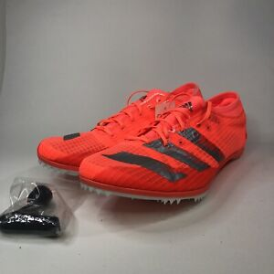 Adidas Adizero Ambition Track & Field Racing Shoes EE4606 Mens 10 Spikes & Tool