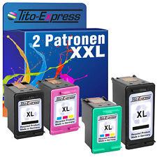 Set 2 Patronen für HP 300XL 301XL 302XL 901XL 62XL 338/343 XL 350/351 XL