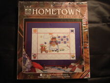 Counted Cross Stitch Kit #5320 Hometown Back Yard Summer 9x12