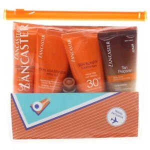 Lancaster Sun Cream SPF 30 Set Velvet Milk Tan Maximizer After Sun + Body Scrub