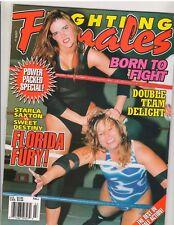 Fighting Females Wrestling Magazine Diva's /Florida Fury/Starla Saxton Fall 1999