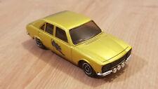 Peugeot 504 gold 1/43 von Dinky Toys 1406 Made in France ca. 40 Jahre alt
