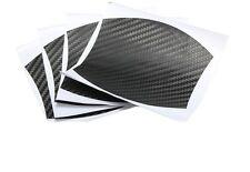 4x Car Door Handle Scratch Cover Protector Molding Trim Adhesive Sticker Black