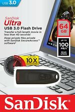 Sandisk 64GB 64 GB CZ48 Ultra USB 3.0 Chiave Flash Stick Drive Chiavetta 100MB/s