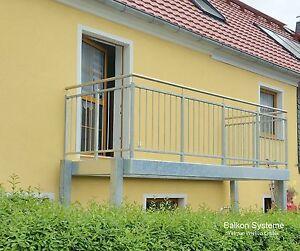 Balkon Bausatz pro m² Maß nach Wunsch Vorstellbalkon aus Stahl feuerverzinkt