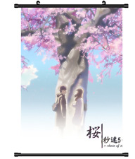 4024 Anime 5 Centimeters Per Second Byosoku 5 cm wall Poster Scroll
