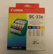 Canon BC-33E Colour Cartridge Genuine Canon Accessory BNIB - S400 BJC-3000