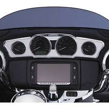 Ciro Chrome Dash Accent Trim for 2014-2016 Harley Touring Models