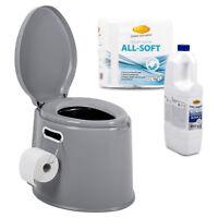 ProPlus Campingtoiletten Set, Camp4 Toiletten-Flüssigkeit, Papier für Reisemobil
