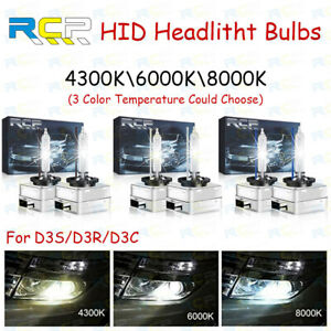 2x new D3S/D3R OEM HID Xenon Headlight Replacement for Philips or OSRAM Bulbs