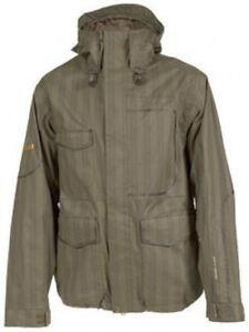 VOLCOM Men's DELIVERANCE Snow Jacket - Brown - Size Large - NWT
