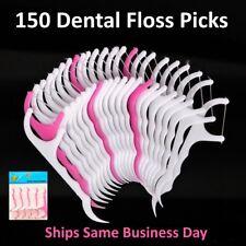 Dental floss teeth flossers tooth pick oral clean care 150 Retail pks of 25 each
