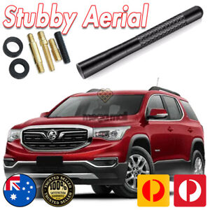 Antenna / Aerial Stubby Bee Sting for Holden Acadia Black Carbon 12CM