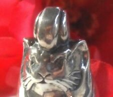 SALE Gordon Barnett CAT BELL COLLECTIBLE PENDANT Sterling .925 UNIQUE Purrfect