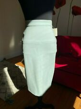 Les Copains Aqua Blue Spencil Skirt