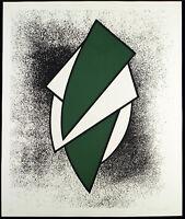 DDR-Kunst 1988 Grosser Kombinationsdruck Manfred KLOPPERT (*1943 D) handsigniert