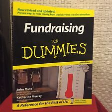 Fundraising for Dummies by Katherine Murray and John Mutz Free Shipping