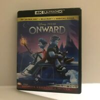Disney Pixar Onward Animated Movie 4K Ultra HD Disc (No DVD No Digital)